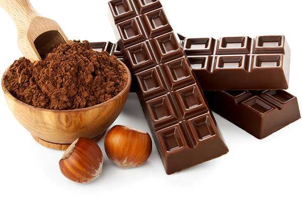 Шоколадные дольки