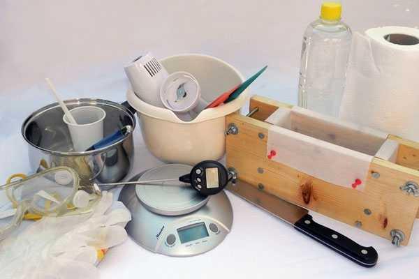инструменты для мыловарения